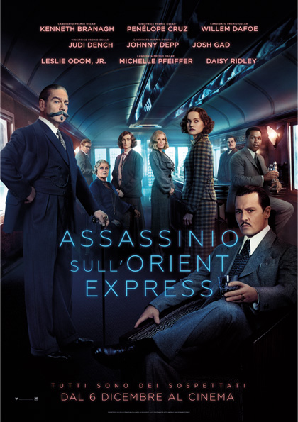 Weekend al cinema - Assassinio sull'Orient Express