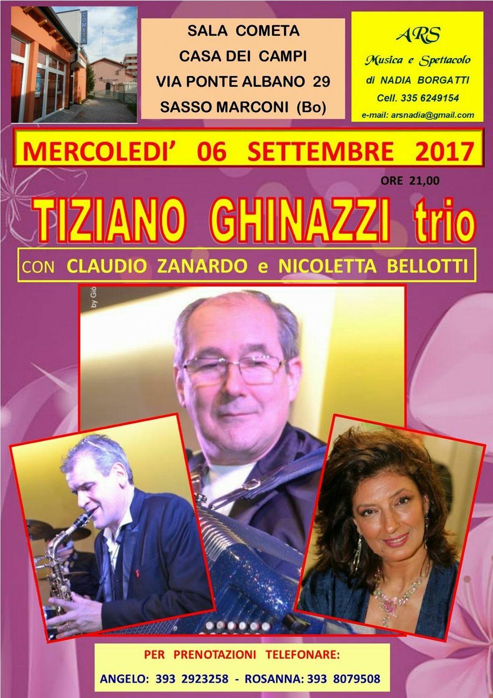 Tiziano Ghinazzi trio - Musica e spettacolo
