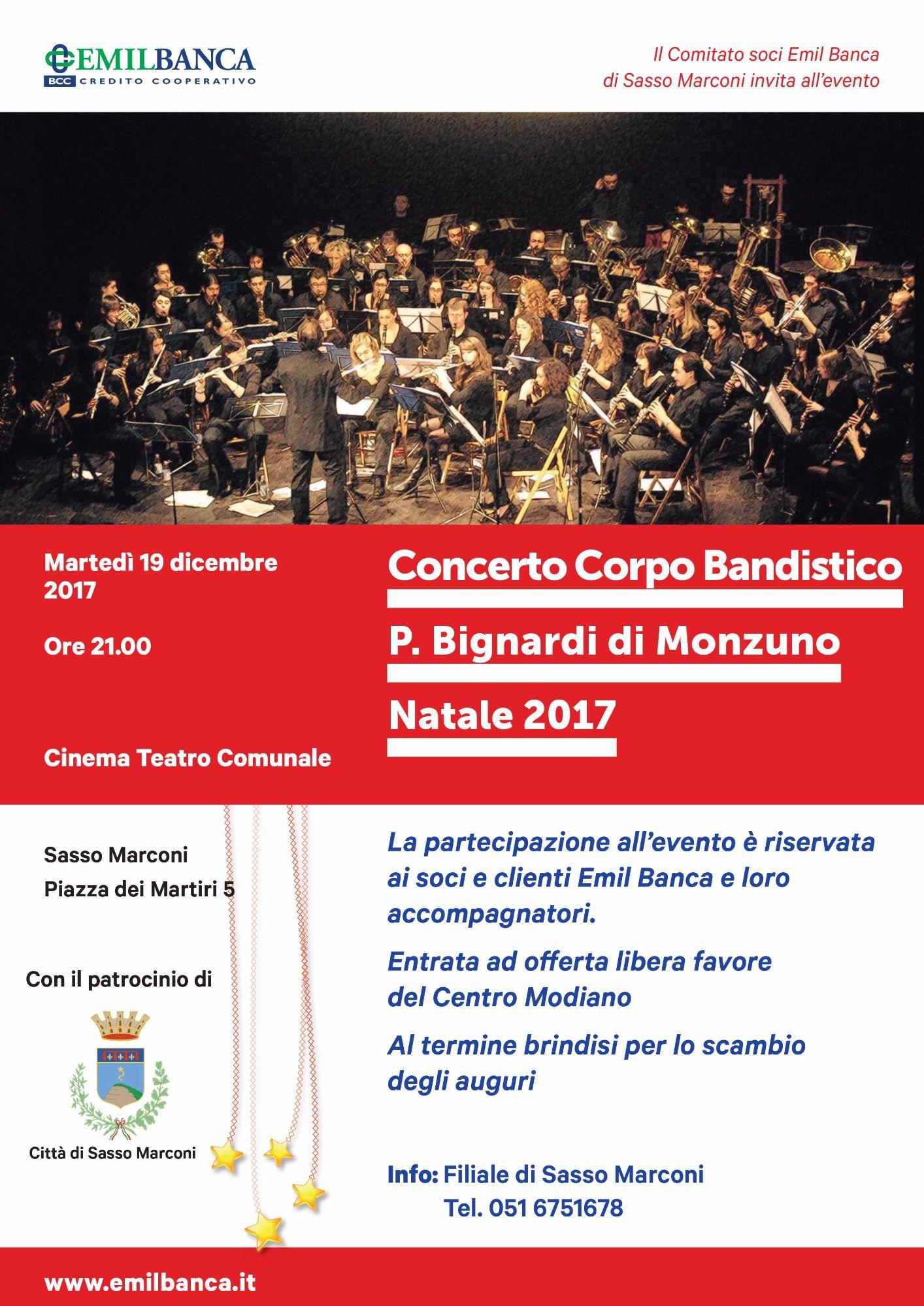 Concerto Corpo Bandistico P. Bignardi di Monzuno