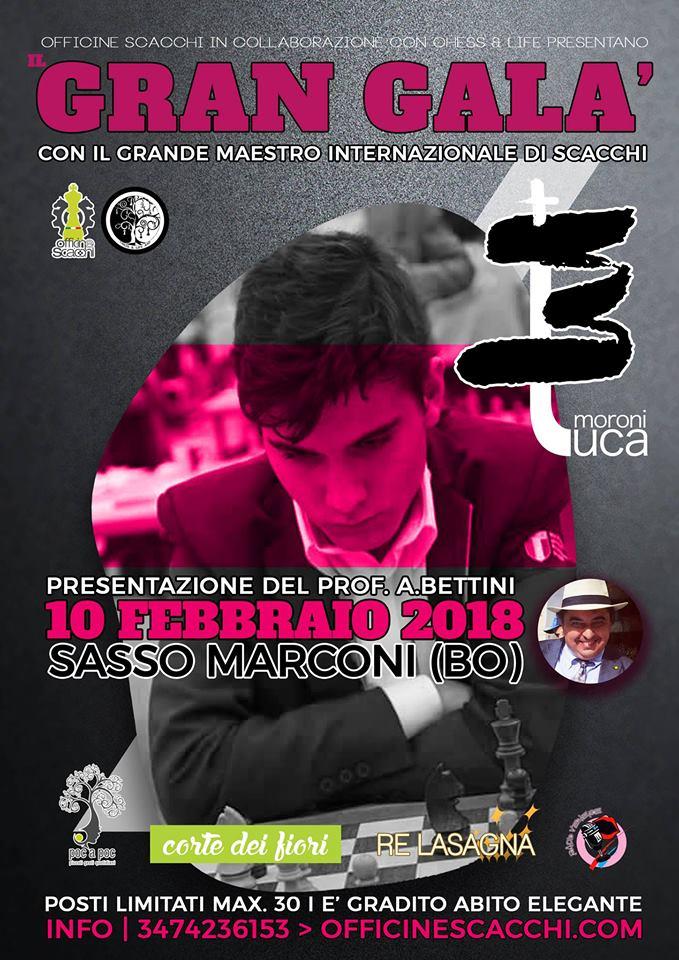 Gran Galà di Scacchi con Luca Moroni