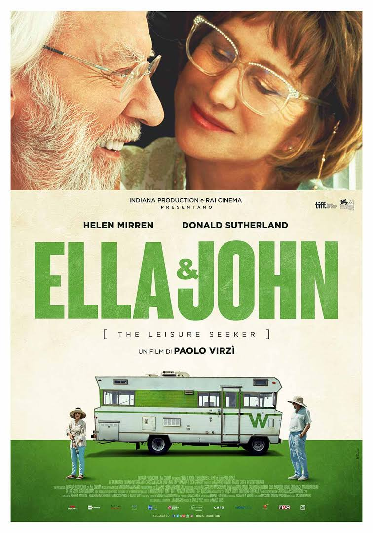 Weekend al cinema - Ella & John- The Leisure Seeker