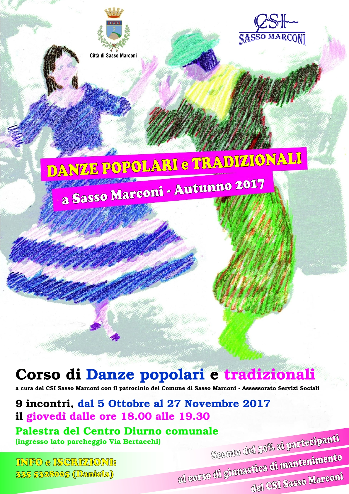 Inizio Corso di Danze popolari e Tradizionali a Sasso Marconi