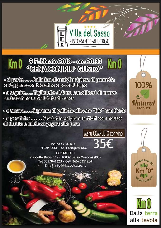 Villa del Sasso- Cena con più gusto