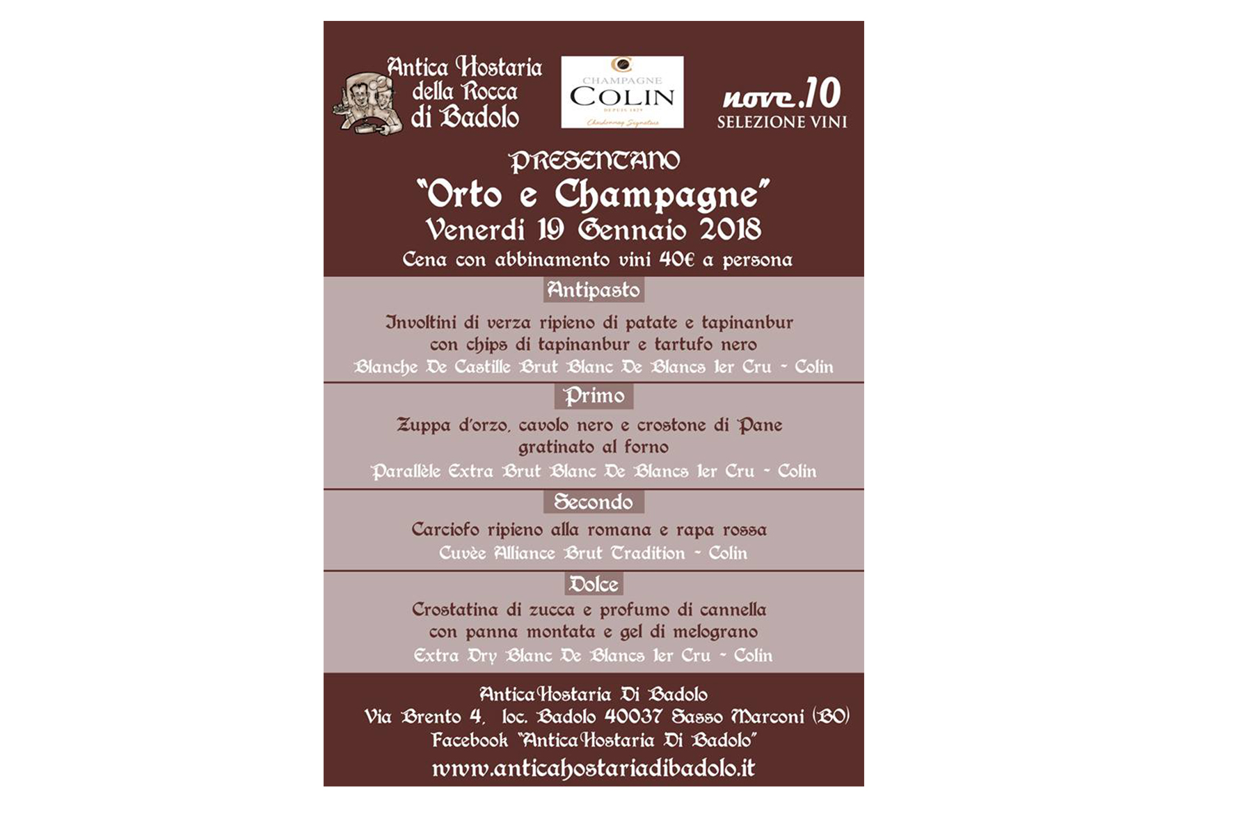 Orto e Champagne