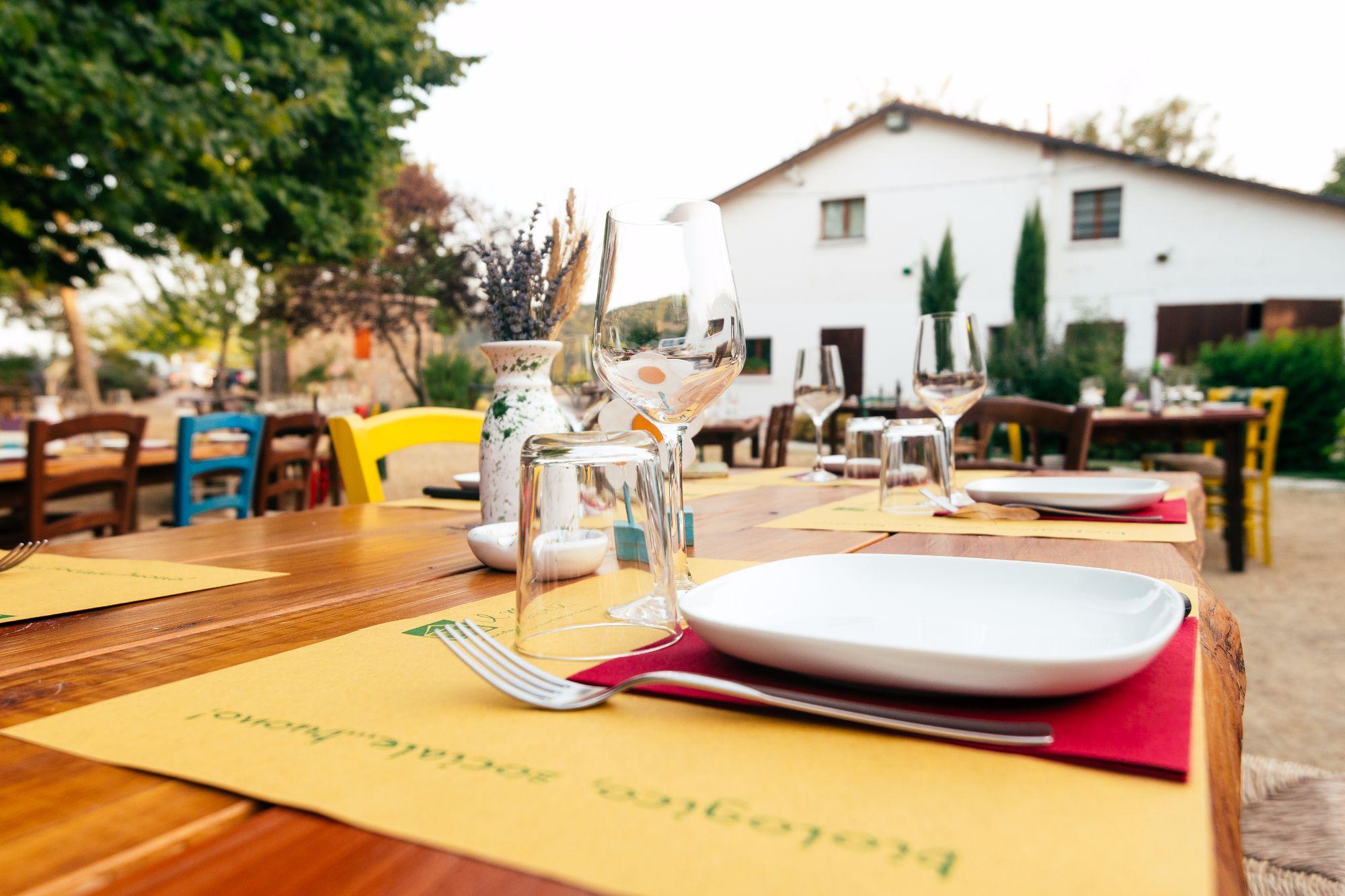 Al Monte bioagriturismo ogni giovedì un menù speciale con prodotti stagionali e dell'Appennino bolognese