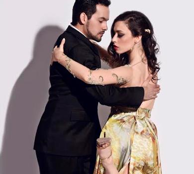 Bomboncito presenta un fine settimana con i ballerini argentini Sebastiàn Acosta e Laura D'Anna