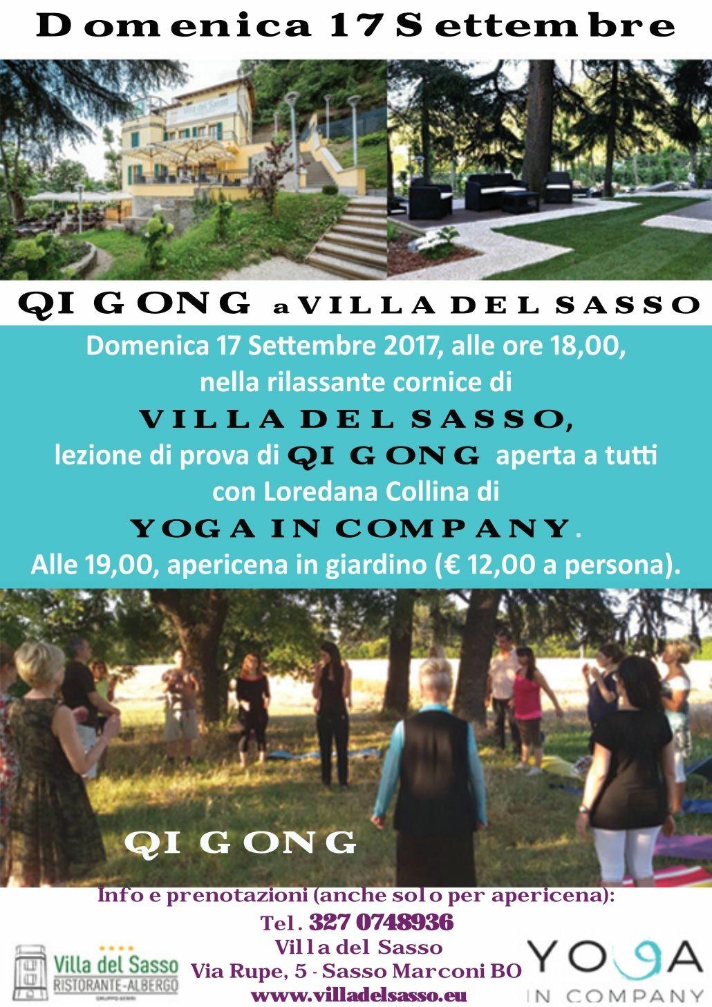 QI Gong a VILLA DEL SASSO