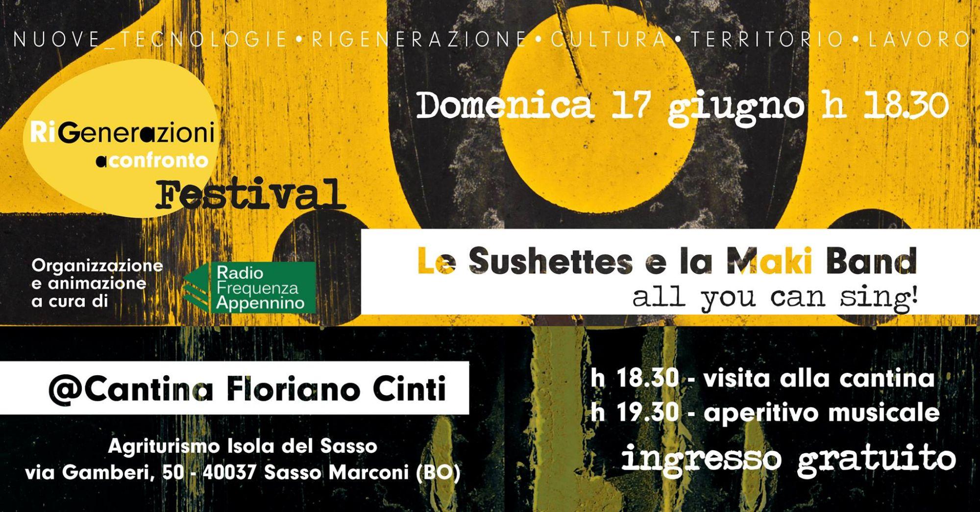 RiGenerazioni a Confronto Festival: Le Sushettes & la Maki Band