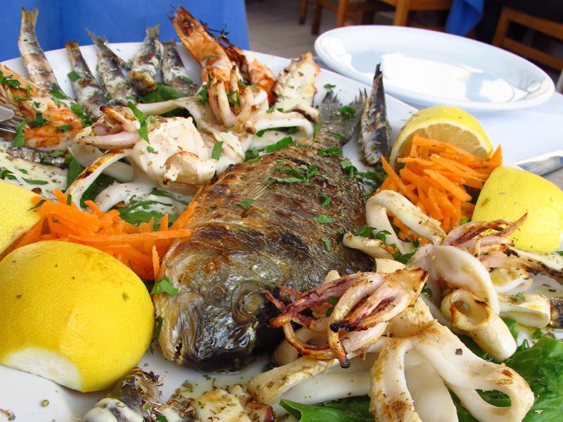 Cena di pesce con Domenico Cilenti